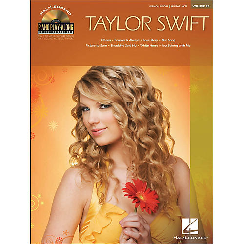 Hal Leonard Taylor Swift - Piano Play-Along Volume 95 (CD/Pkg) arranged for piano, vocal, and guitar (P/V/G)-thumbnail