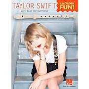 Hal Leonard Taylor Swift - Recorder Fun! Songbook