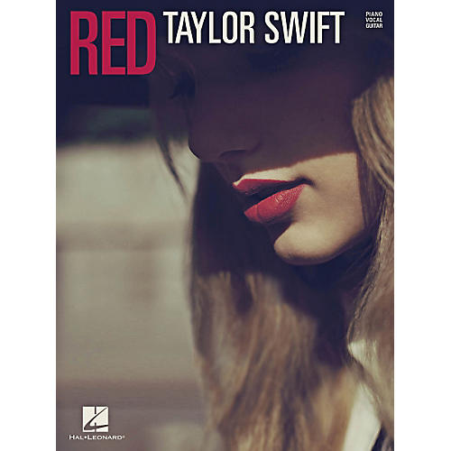 Hal Leonard Taylor Swift - Red for PVG (Piano, Vocal, Guitar)-thumbnail