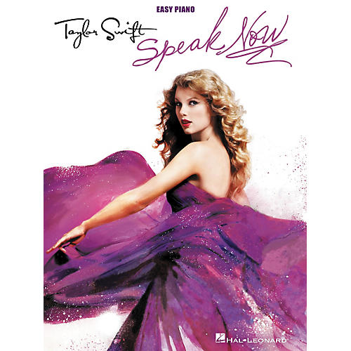 Hal Leonard Taylor Swift - Speak Now For Easy Piano