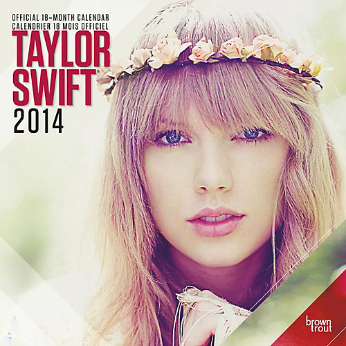 Browntrout Publishing Taylor Swift 2014 Calendar Square 12x12-thumbnail