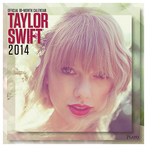 Browntrout Publishing Taylor Swift 2014 Calendar Square 12x12-thumbnail
