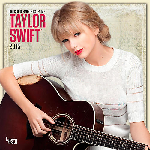 Browntrout Publishing Taylor Swift 2015 Calendar Square 12x12