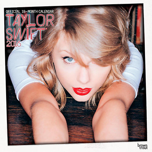 Browntrout Publishing Taylor Swift 2016 Calendar Square 12 x 12 In.-thumbnail