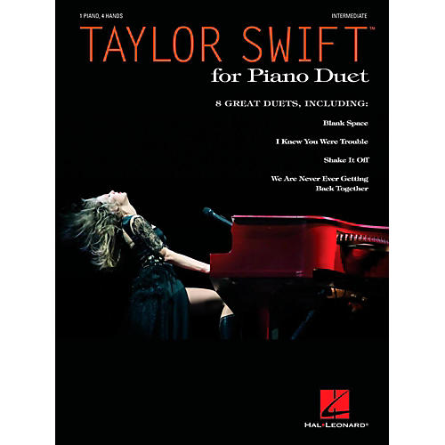 Hal Leonard Taylor Swift For Piano Duet (1 Piano 4 Hands) - Intermediate Level
