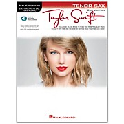 Hal Leonard Taylor Swift For Tenor Sax - Instrumental Play-Along Book/CD 2nd Edition