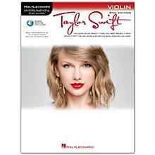 Hal Leonard Taylor Swift For Violin - Instrumental Play-Along Book/CD 2nd Edition