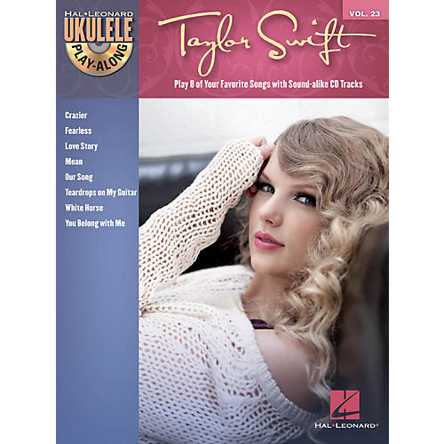 Hal Leonard Taylor Swift Ukulele Play-Along Vol 23 Book/CD-thumbnail