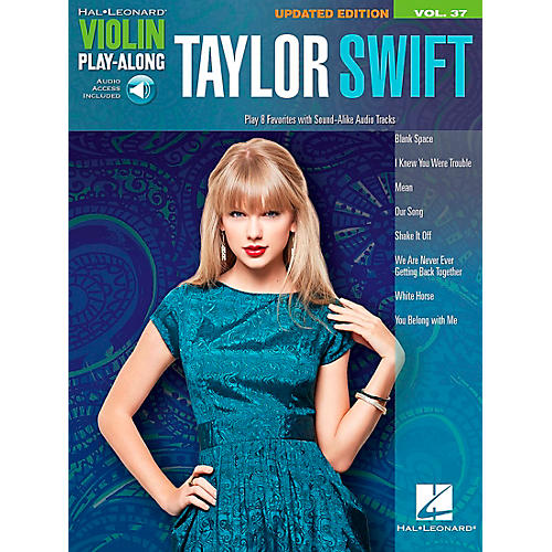 Hal Leonard Taylor Swift  Violin Play-Along Volume 37 Book/CD-thumbnail