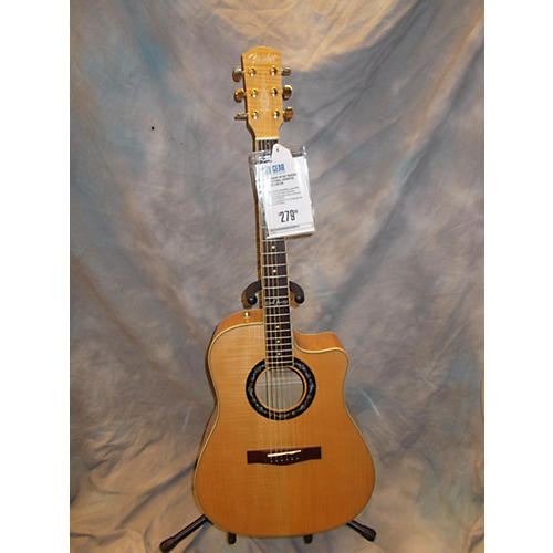 Fender Tbucket 400CE Natural Acoustic Electric Guitar Natural