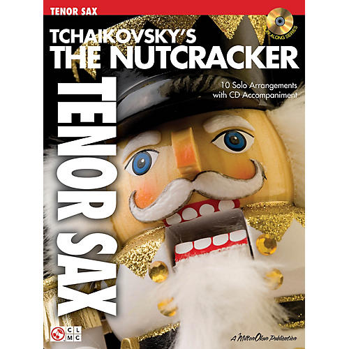 Cherry Lane Tchaikovsky's The Nutcracker Instrumental Play-Along Series Book with CD