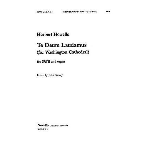 Novello Te Deum (Buttrey/Washington) SATB