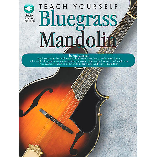 Music Sales Teach Yourself Bluegrass Mandolin (Book/CD)