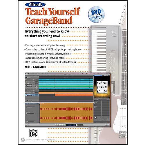 Alfred Teach Yourself GarageBand Book and DVD-thumbnail