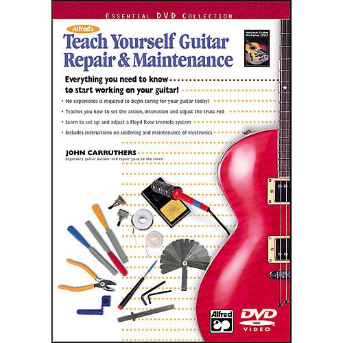 Alfred Teach Yourself Guitar Repair and Maintenance (DVD)-thumbnail