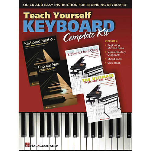 Hal Leonard Teach Yourself Keyboard - Complete Kit