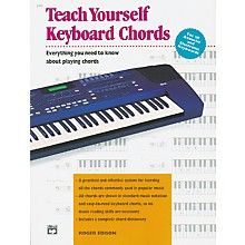 Alfred Teach Yourself Keyboard Chords Book
