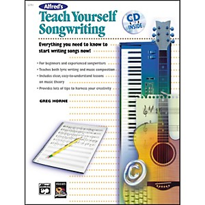 Alfred Teach Yourself Songwriting Book/CD by Alfred