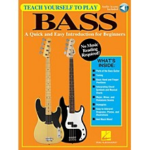 Hal Leonard Teach Yourself To Play Bass - A Quick & Easy Introduction For Beginners (Book/Online Audio)