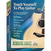 Teach Yourself To Play Guitar: Acoustic Songs (CD-ROM)