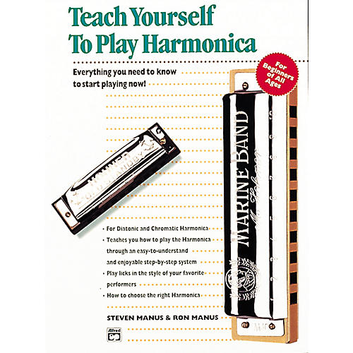 Alfred Teach Yourself To Play Harmonica Book/CD-thumbnail