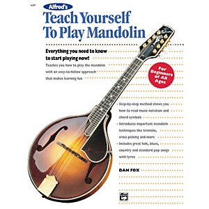 Alfred Teach Yourself To Play Mandolin Book by Alfred