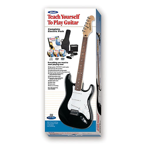 Alfred Teach Yourself to Electric Guitar Complete Starter Pack
