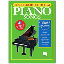 "Hal Leonard Teach Yourself to Play ""A Thousand Years"" & 9 More Popular Songs on Piano Book/Video/Audio"