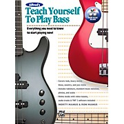 Alfred Teach Yourself to Play Bass Book & DVD