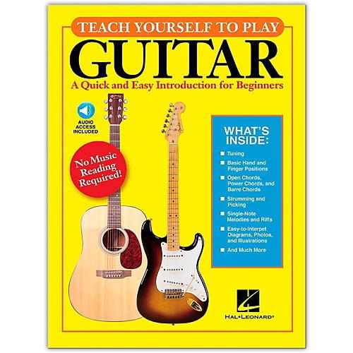 Hal Leonard Teach Yourself to Play Guitar Book/CD