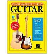 Hal Leonard Teach Yourself to Play Guitar Book/Online Audio