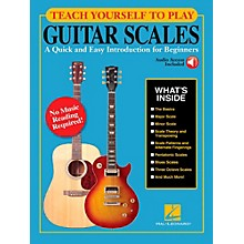 Hal Leonard Teach Yourself to Play Guitar Scales Book/Video Online