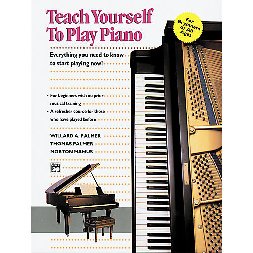 Alfred Teach Yourself to Play Piano Book