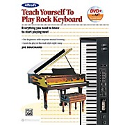 Alfred Teach Yourself to Play Rock Keyboard Book & DVD