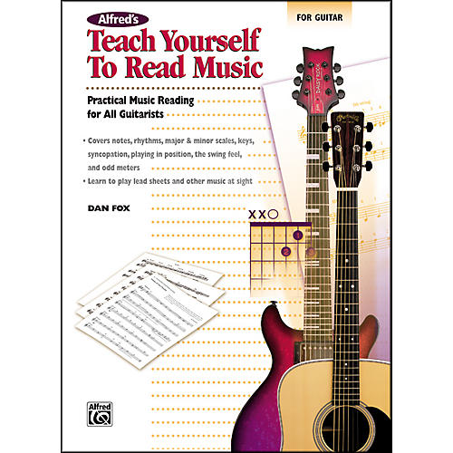 Alfred Teach Yourself to Read Music for Guitar Book