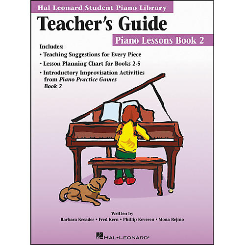 Hal Leonard Teacher's Guide - Piano Lessons Book 2 Hal Leonard Student Piano Library
