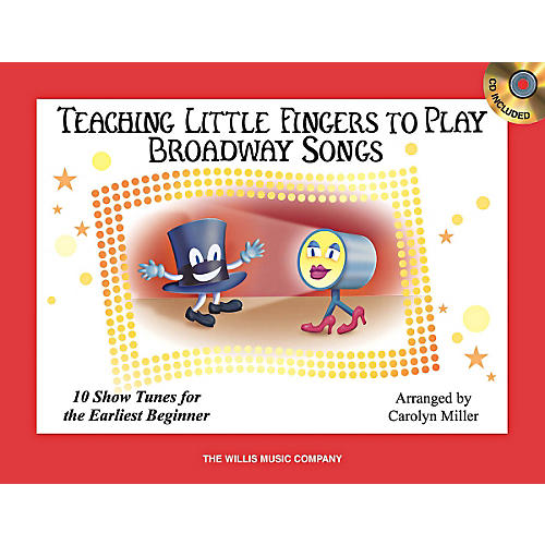 Willis Music Teaching Little Fingers To Play Broadway Songs Book/CD-thumbnail