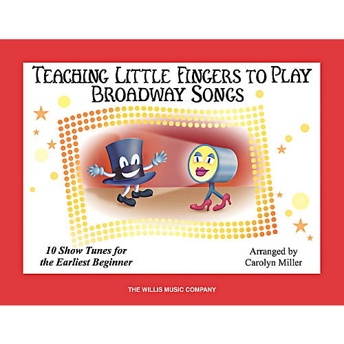 Willis Music Teaching Little Fingers To Play Broadway Songs Book-thumbnail