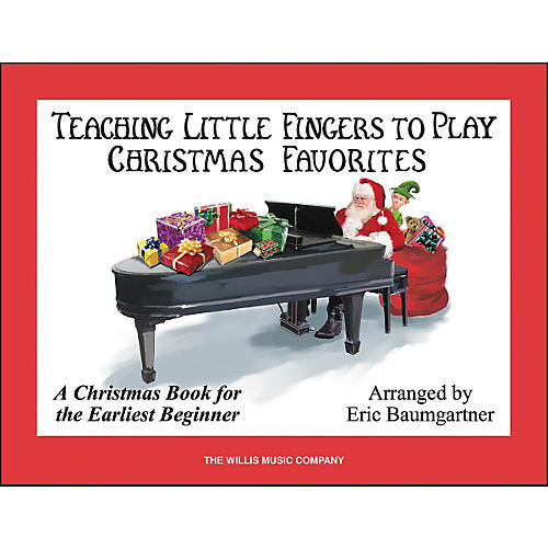 Willis Music Teaching Little Fingers To Play Christmas Favorites-thumbnail
