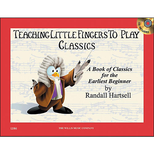 Willis Music Teaching Little Fingers To Play Classics Book/CD-thumbnail