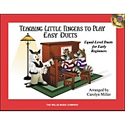 Willis Music Teaching Little Fingers To Play Easy Duets 1 Piano, 4 Hands Book/CD