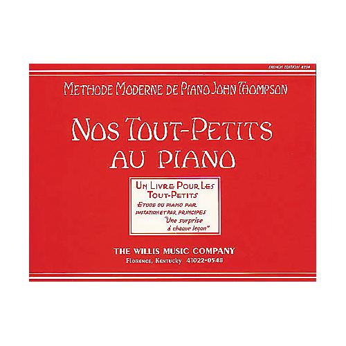 Willis Music Teaching Little Fingers To Play (French Edition) Nos Tout-Petits Au Piano-thumbnail