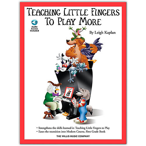 Willis Music Teaching Little Fingers To Play More Book/CD