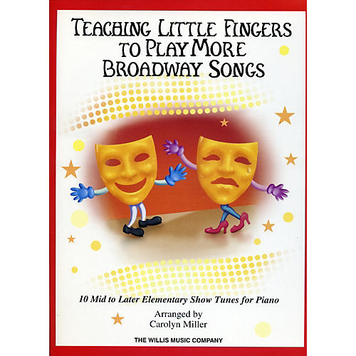 Hal Leonard Teaching Little Fingers To Play More Broadway Songs-thumbnail
