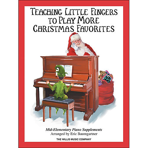 Willis Music Teaching Little Fingers To Play More Christmas Favorites Book-thumbnail