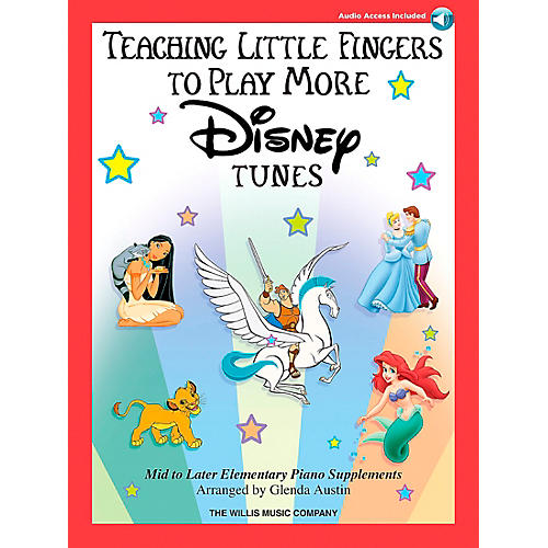 Willis Music Teaching Little Fingers To Play More Disney Tunes Book/CD-thumbnail