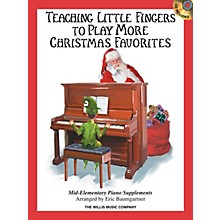Willis Music Teaching Little Fingers to Play More Christmas Favorites - Book/CD Willis Book/CD (Mid-Elem)