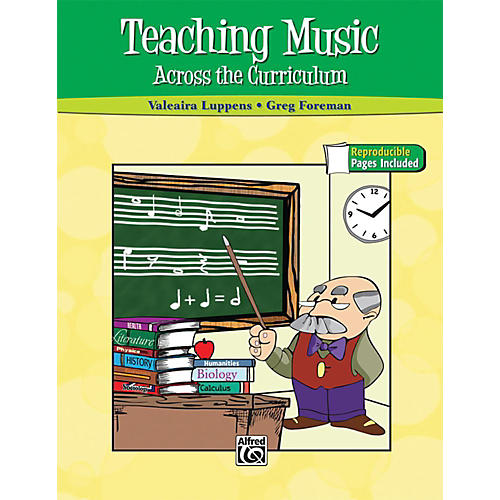 Alfred Teaching Music Across the Curriculum Book-thumbnail