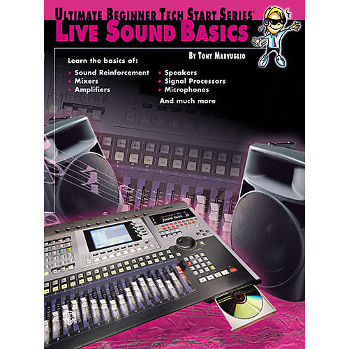 Alfred Tech Start Live Sound Basics Book-thumbnail