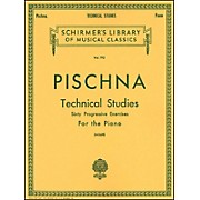 G. Schirmer Technical Studies Piano 60 Progressive Exercises By Pischna
